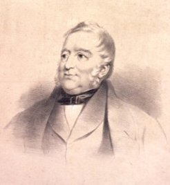 James Ebenezer Bicheno (1785-1851), attributed to Thomas Bock, 1851?