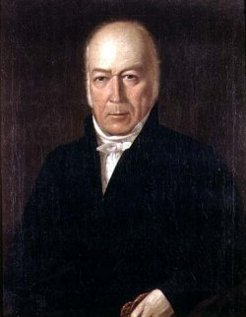 Laurence Hynes Halloran (1765-1831), attributed to Augustus Earle, c1825-27