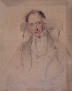 Edward Lord (1781-1859), by Thomas Griffiths Wainewright, 1846