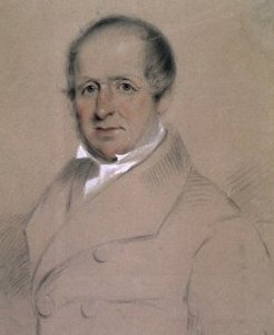 George Frederick Read (1788-1860), by Thomas Bock, 1851
