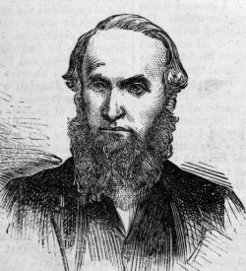 William Bayles (1820-1903), by unknown engraver