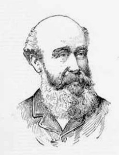 James Bell (1836-1908), by unknown engraver, 1893