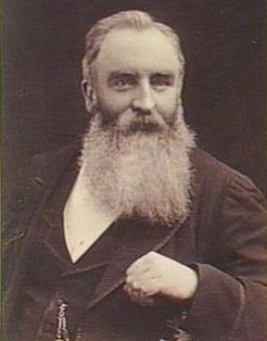 George Swan Fowler (1839-1896), by unknown photographer