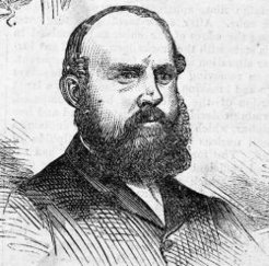 George Briscoe Kerferd (1831-1889), by unknown engraver