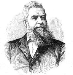Matthew Lang (1830-1893), by unknown engraver