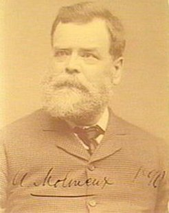 Albert Molineux (1832-1909), by unknown photographer