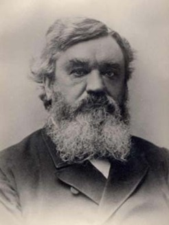 George Robertson (1825-1898), by unknown photographer