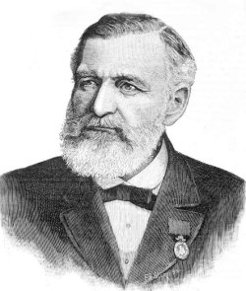 Julius Siede (1825-1903), by F. A. Sleap, 1890