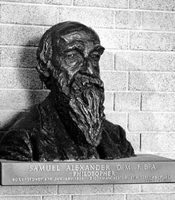 Samuel Alexander, photo by Wolfgang Sievers, bust by Sir Jacob Epstein