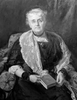 Rose Scott (1847-1925), by unknown photographer (after John Longstaff)