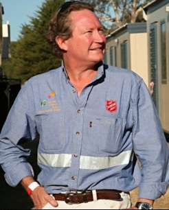 Andrew Forrest, by June Orford, 2009