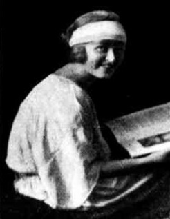 Mrs Eric Connelly, c1924, Ruth Hollick
