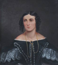 Frances Gunn, copy of original painting, believed to be by Thomas Wainewright, n.d.
